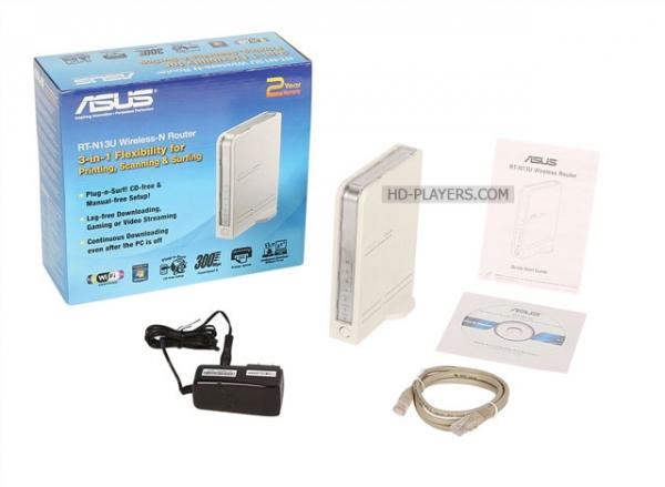 ASUS RT-N13U: сетевой кабель не подключен