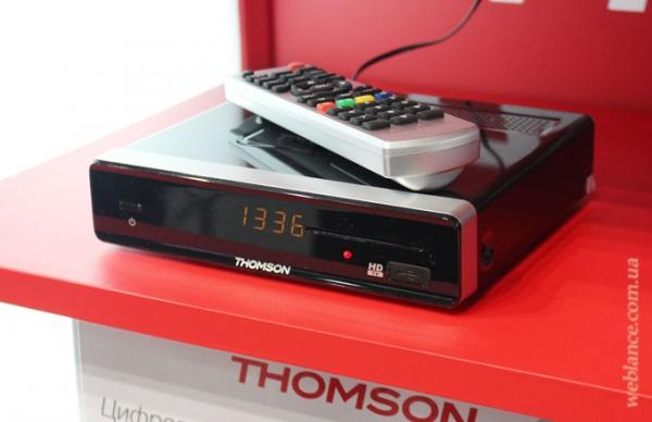 DVB-T2 ресивер Thomson THT702 представлен официально!