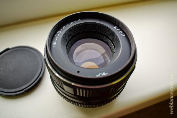 Продаётся объектив Helios 44M-4 (58мм f2.0) в отличном состоянии