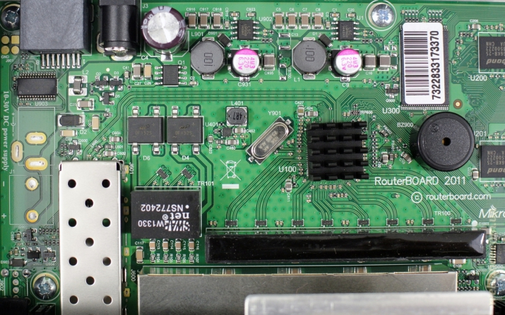 ����� �������������� Mikrotik RB2011UiAS-RM (RouterBoard 2011): ������� ������� ��� ���������� ����� �� ��������� ����