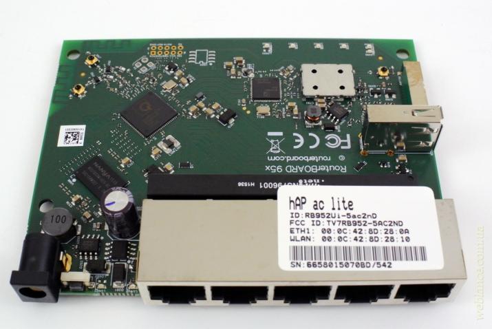 Обзор и тестирование hAP ac lite (RB952Ui-5ac2nD) от Mikrotik: 802.11ac в массы!
