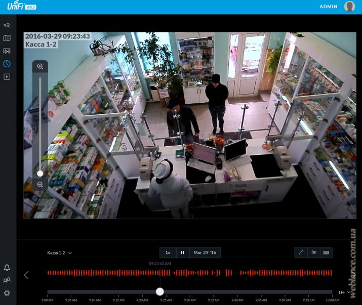 Обновление UniFi Video 3.2.0: новый интерфейс камер, русский язык, цифровой зум, оптимизация производительности, Timeline