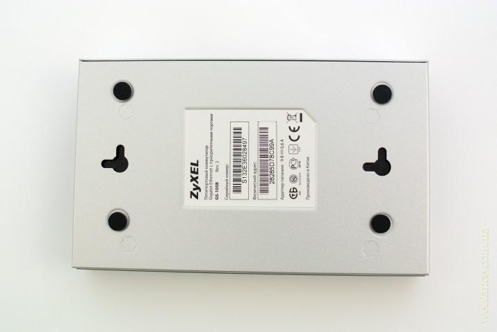 Обзор коммутатора ZyXEL GS-105B V2: есть ли смысл переплачивать за бренд?
