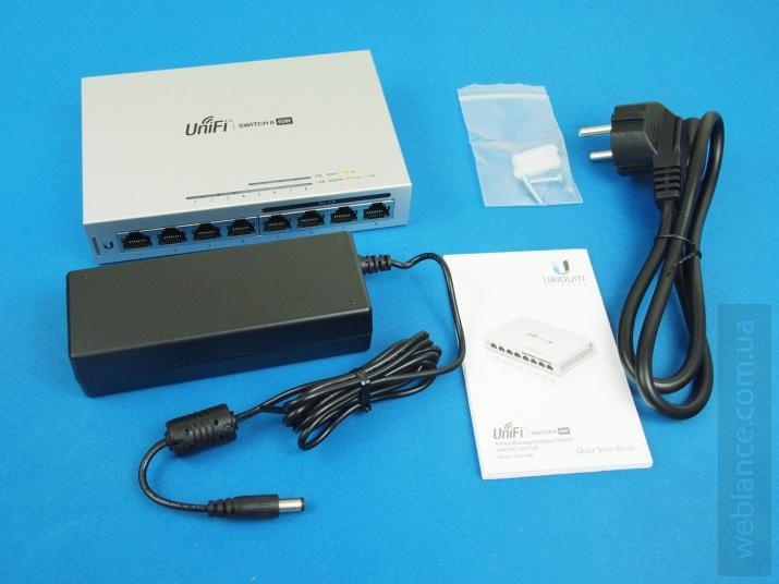 Обзор UniFi Switch US-8 и US-8-60W: доступные решения в линейке управляемых коммутаторов
