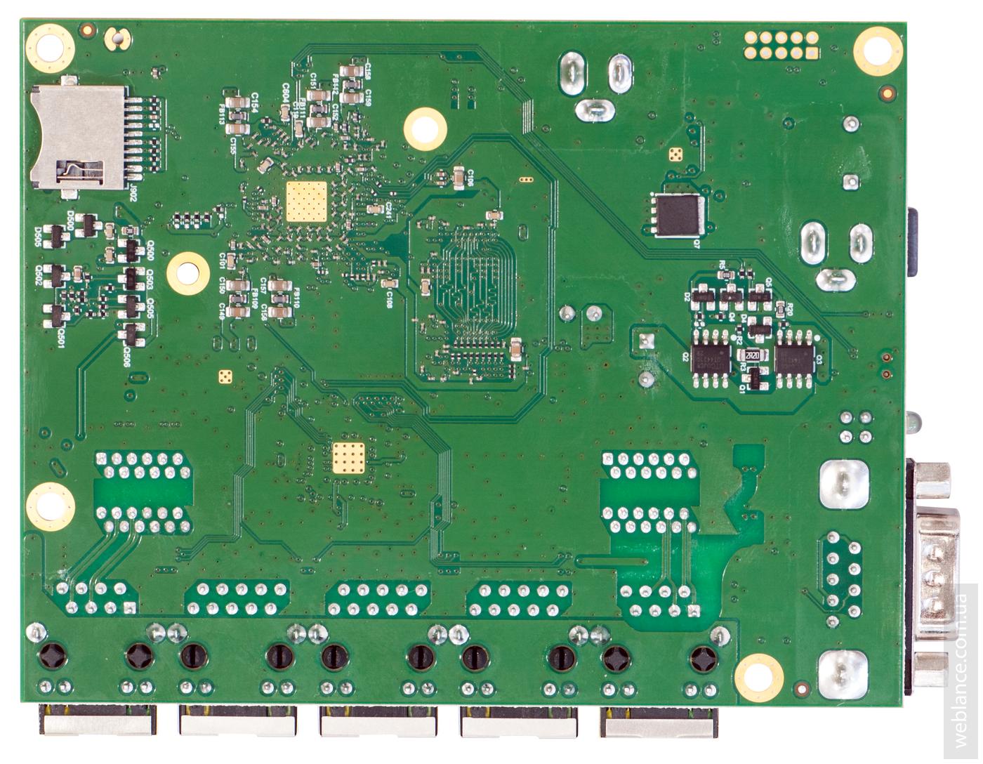 Экспресс-обзор Mikrotik RB450Gx4: замена для RB850Gx2