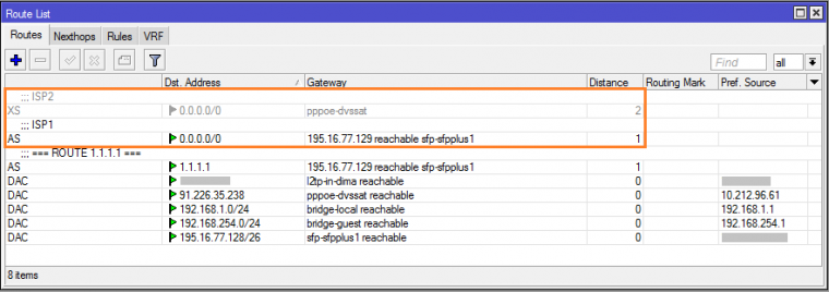 Mikrotik на 2 провайдера: настройка резервного канала в RouterOS